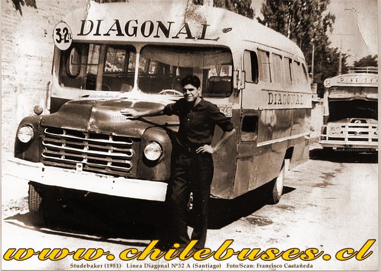 1951 Studebaker Linea Diagonal N32 A Santiago