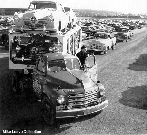 1951 Studebaker on hauler