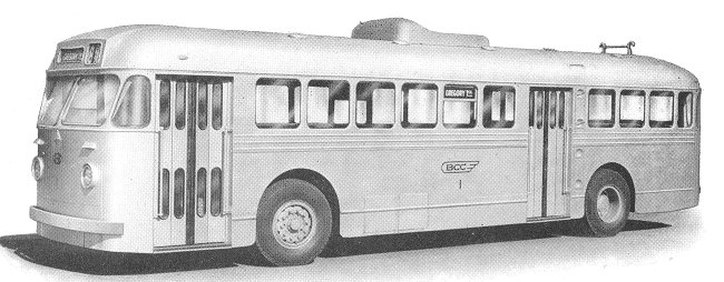 1951 Sunbeam trolleybus