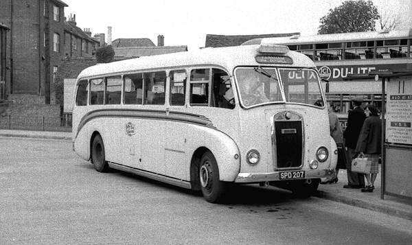 1952 Dennis L6 Falcon with Gurney Nutting B30F bodywork
