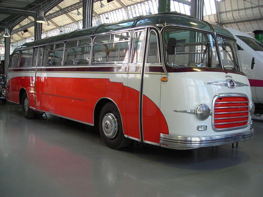1952 Kässbohrer-Panoramabus 1950er - Verkehrszentrum