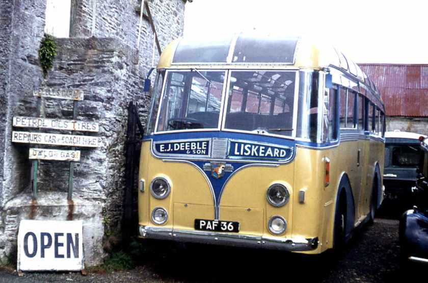 1952 Leyland PSU1- 11 Royal Tiger with a Harrington Wayfarer C41C body with a dorsal fin
