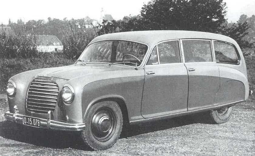 1952 Steyr 160 - Prototyp