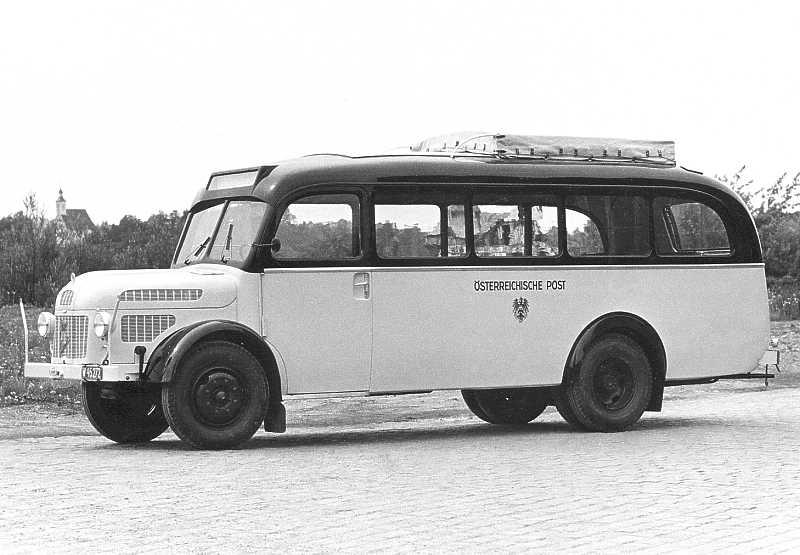 1952 Steyr Diesel 380 I