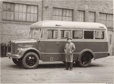 1952 Steyr-Puch Bus