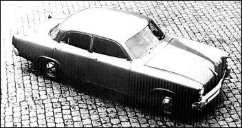 1952 studebaker prototype by Porsche