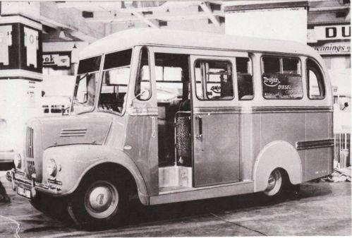 1952 TROJAN 13 SEATER BUS