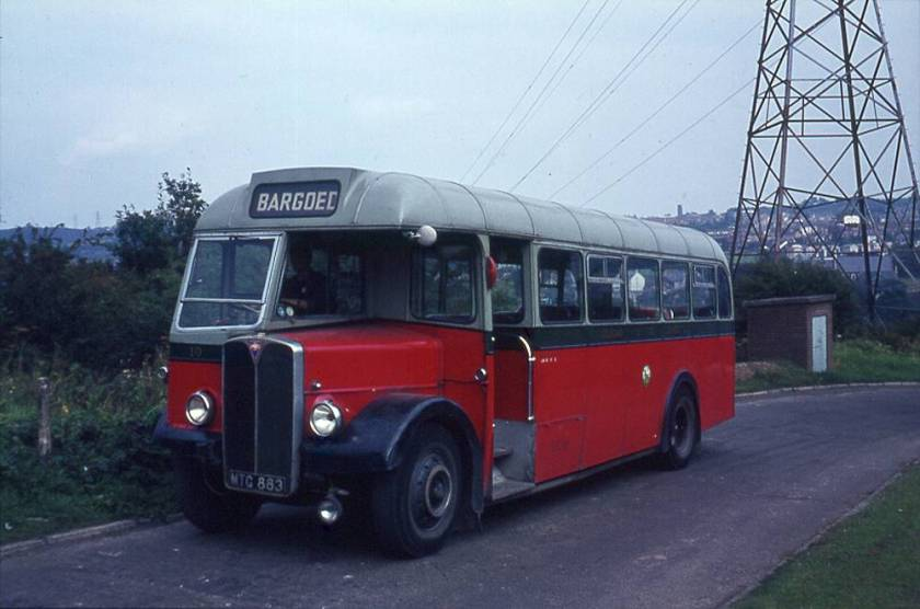 1953 AEC Regall IIIs with Longwell Green B35F body