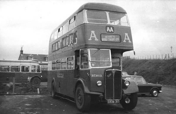 1953 AEC Regent III OKM317 was originally a demonstrator for Saunders Roe