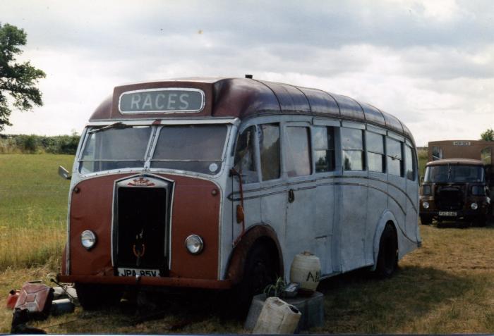 1953 Albion Heaver B35F. Ex-Guernsey Motors 52