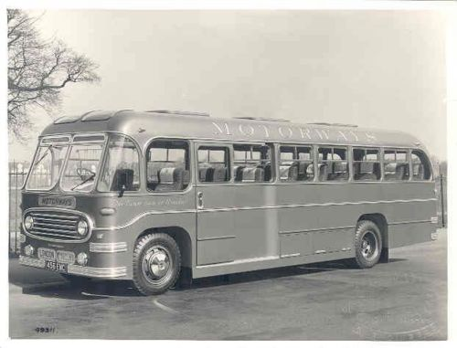 1953 Bedford Strachans Bus Photo Yugoslavia