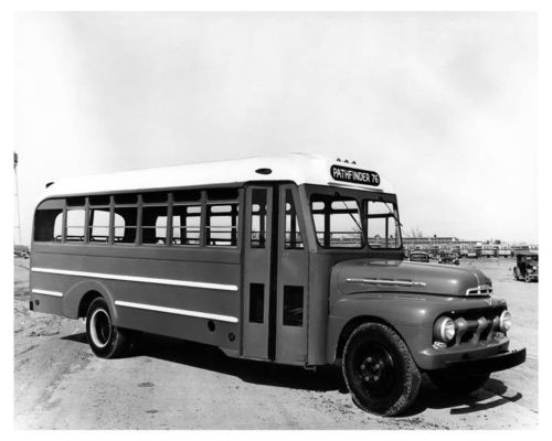 1953 Ford F6 Superior Bus Factory Photo