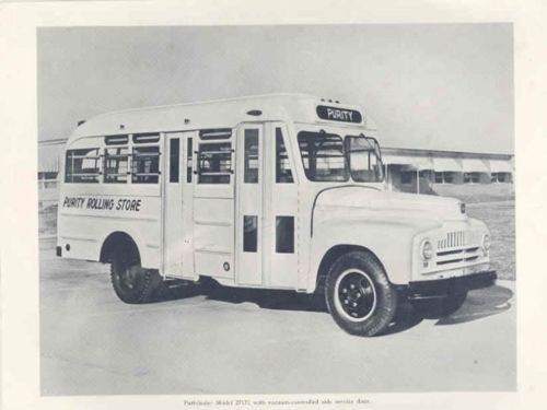 1953 International Superior Bus Factory Photo Sheet