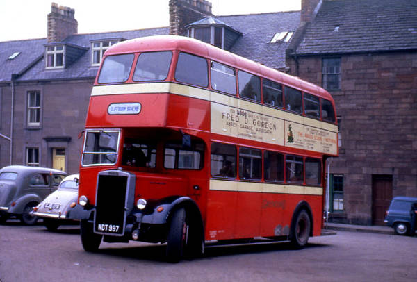 1953 Leyland PD2-12 with a Barnaby H31-28R body