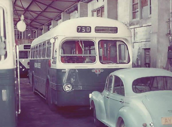 1953 Leyland PSUC1-1 with Saro B44F body