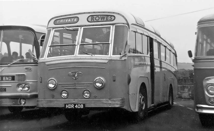 1953 Leyland Royal Tiger with a Longwell Green C41C body