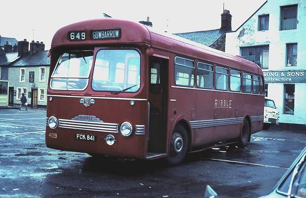 1953 Leyland Tiger Cub PSUC1-1 of with Saunders Roe 44 seat body