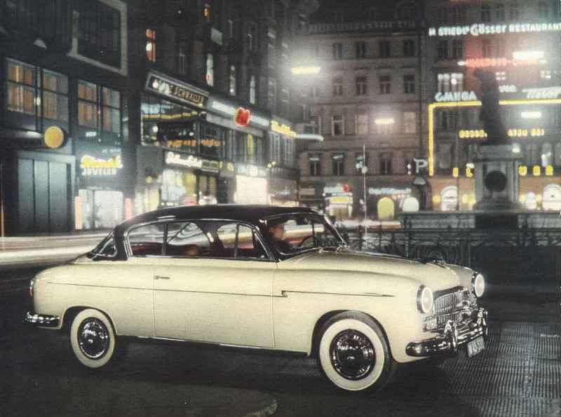 1953 Steyr 2000 A Grand Vue - Mod. Fiat 1900 A Gran Luce