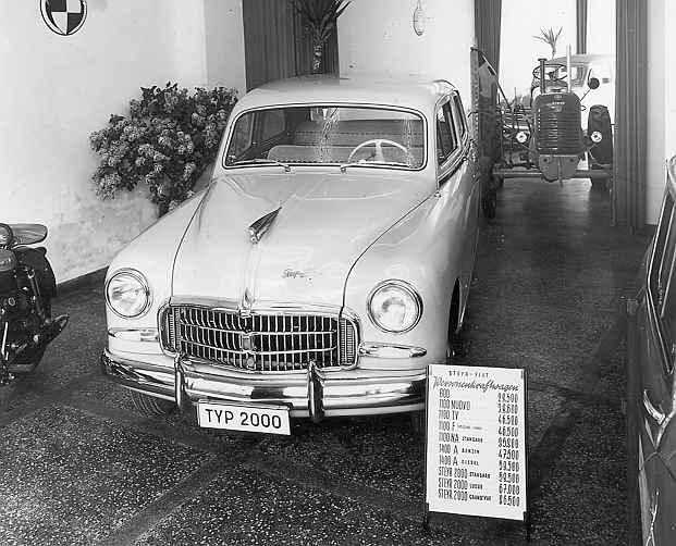 1953 Steyr 2000 A Standard - Mod. Fiat 1400 A