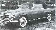 1953 Steyr 2000 Ghia