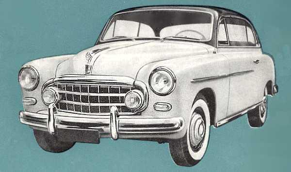 1953 Steyr 2000 Grand Vue