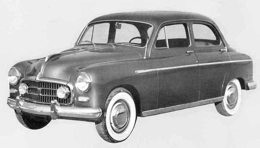 1953 Steyr 2000 Luxus - Mod. Fiat 1900 A