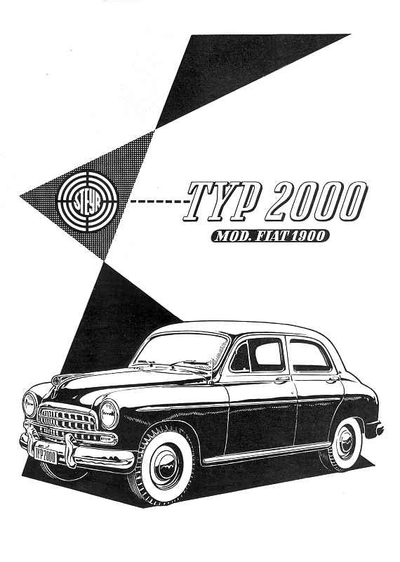 1953 Steyr 2000 (Luxus)