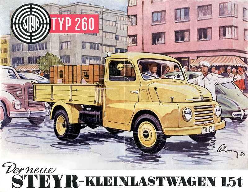 1953 Steyr 260 Kastenwagen (2)
