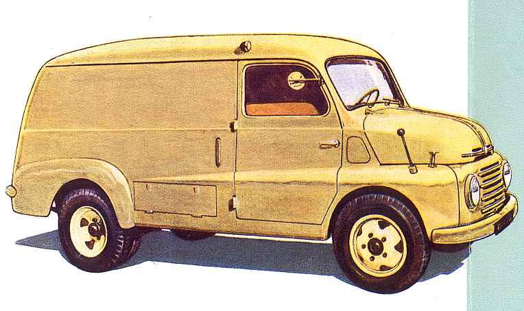 1953 Steyr 260 Kastenwagen