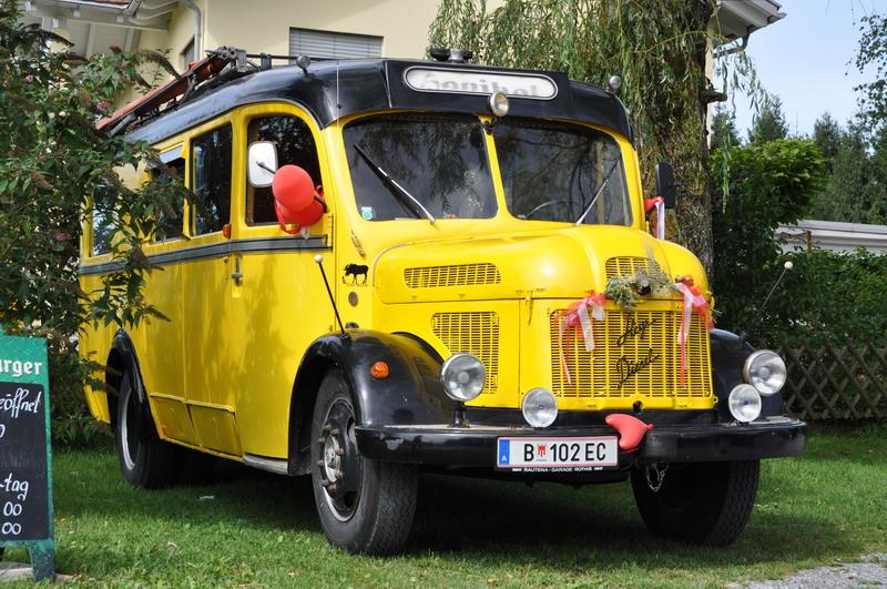 1953 Steyr Diesel 380 Omnibus