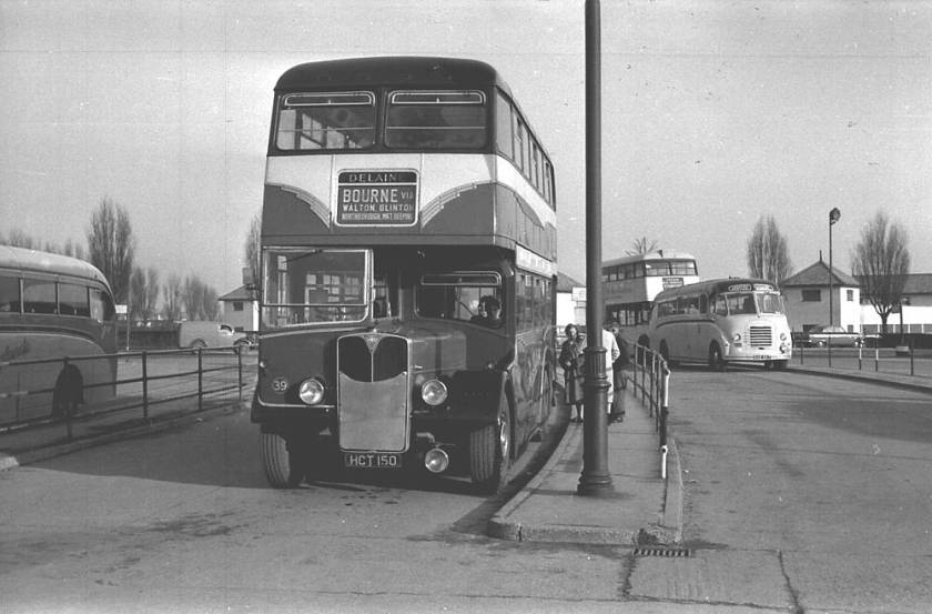 1953 Strachan H31-28RD bodied A.E.C. 9613S Regent III