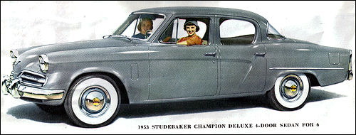 1953 Studebaker Champion Deluxe 4-door Sedan