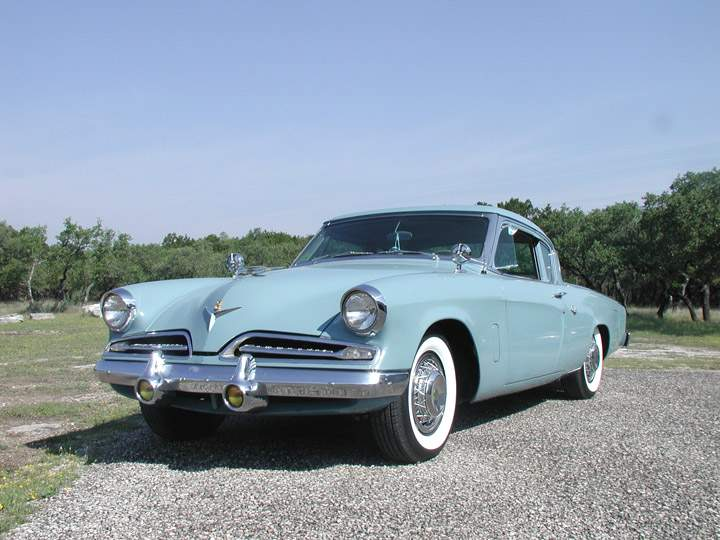 1953 Studebaker Commander Starlight CoupeV8 with OD Transmission