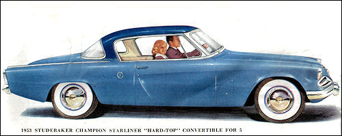1953 studebaker starliner coupe
