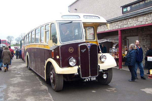 1954 AEC Regal III 66, JVY516, a 1954 example with bodywork by Barnaby