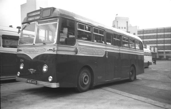1954 AEC Reliance MU3RV with a Strachan C41C body a