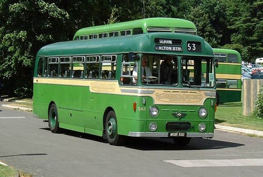 1954 AEC Reliance MU3RV with a Strachan C41C body