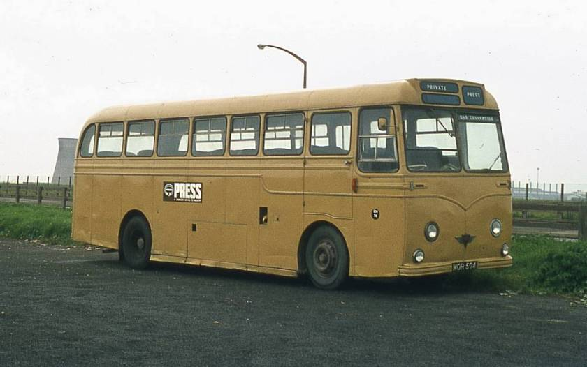 1954 AEC Reliance MU3RV with Strachan Everest C41C bodywork