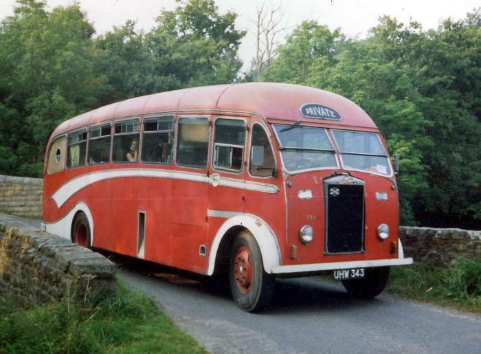 1954 Albion Victor Heaver B35F