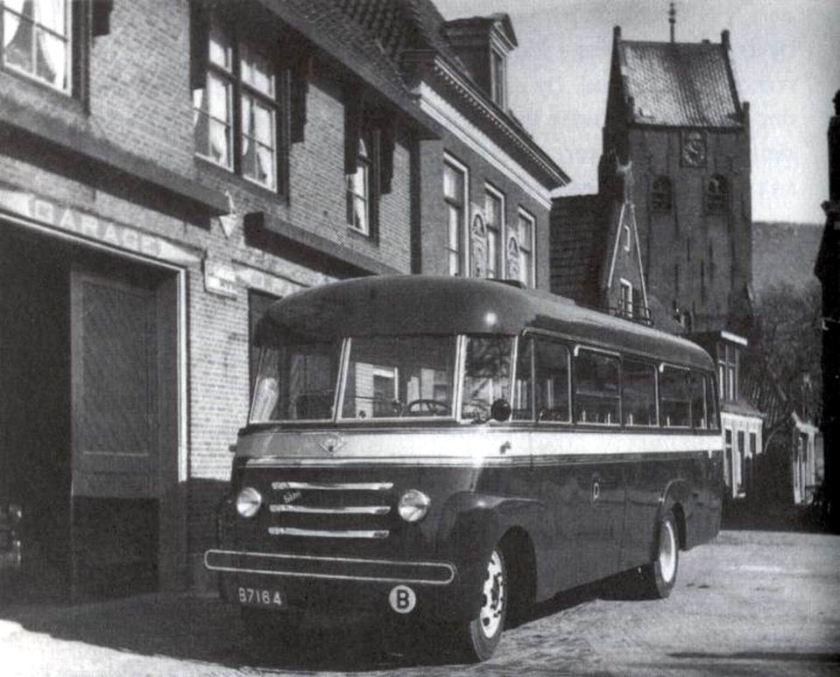 1954 Austin CXD, carrosserie Smit, Joure. Bouwjaar 1954 B-7164 Nederland