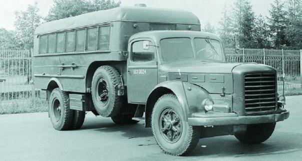 1954 Škoda-706R
