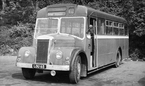 1954 Dennis Falcon LOU65 with Strachan bodywork
