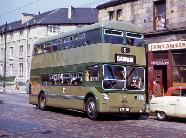 1954 Leyland Atlantean is seen here with the Saro body was H37-24R