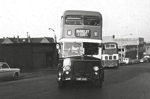 1954 Leyland PD2-20s with rare Bond L53R bodywork