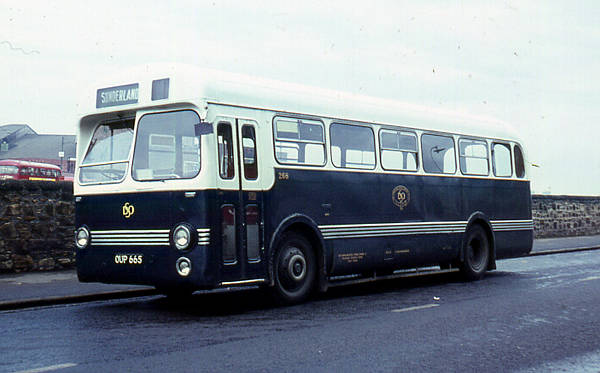 1954 Leyland PSUC1-1 Tiger Cub with a Saro B44F body