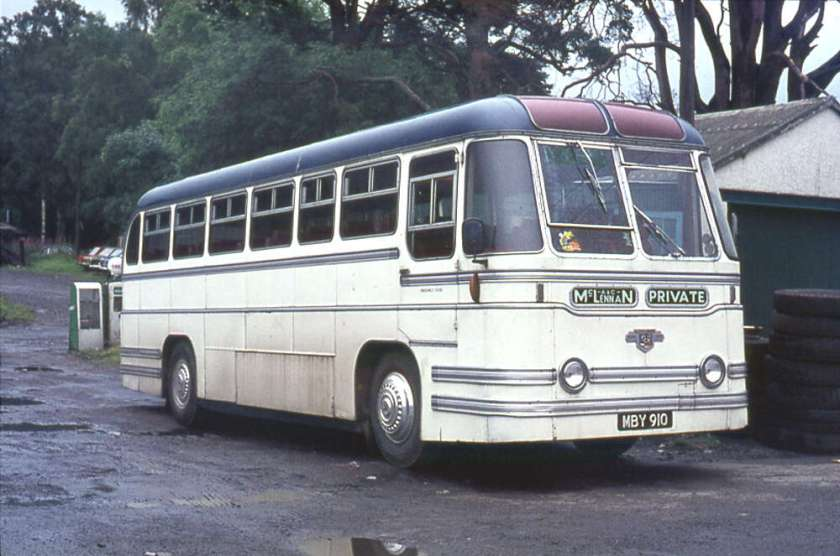 1954 Leyland PSUC1-2 Tiger Cubs with Strachans Everest C41C bodies