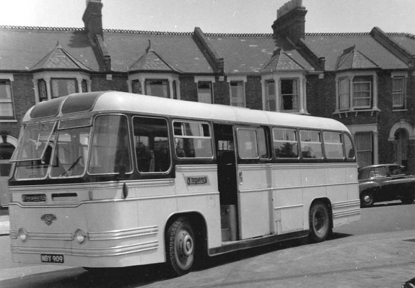 1954 Leyland PSUC1-2 with Strachans C41C body