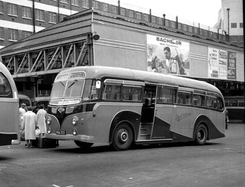1954 Leyland PSUC1-2T Tiger Cub with Harrington Wayfarer C37C body.