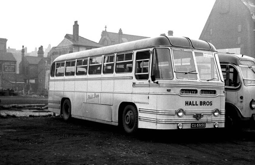 1954 Leyland PSUC1-2T Tiger Cub with Strachan Everest C41C body