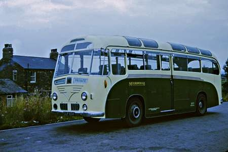 1954 Leyland Royal Tiger Harrington Wayfarer c26C OUF-834